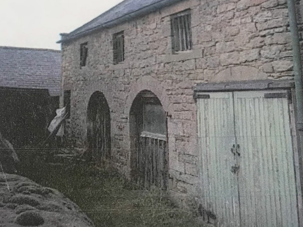 The old barn now Granary Cottage